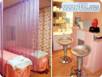 小美容院装修效果图 小型美容店装修图