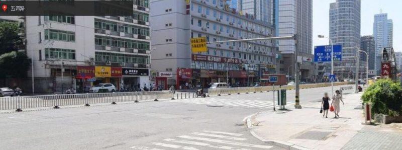 五四路大型餐饮店面出租210平方米双门面_搜门面网