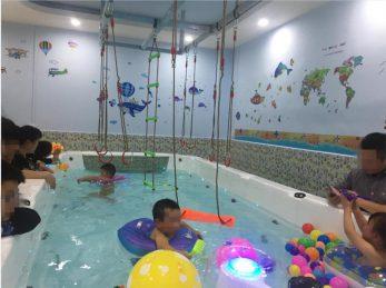 婴儿游泳馆设备低价转让_搜门面网