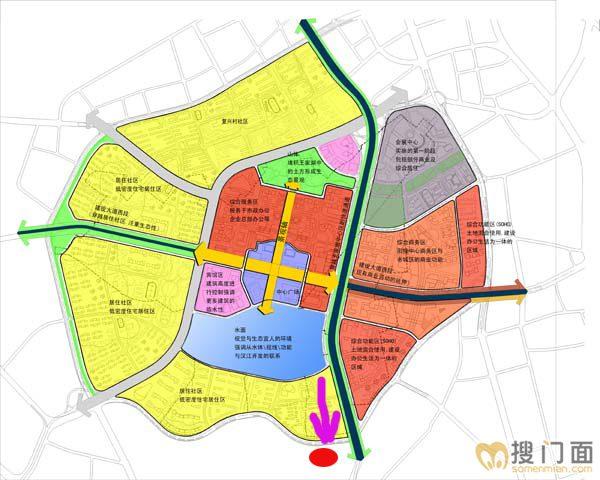 武汉手绘地图 机场
