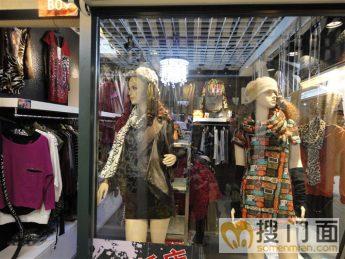门头效果图图片分享;   女装店面 门头 设计装修 效果 图欣